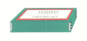 VOTIVO SET OF 4 AROMATIC SOAPS CHRISTMAS SAGE