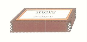 VOTIVO GINGERSNAP SET OF 4 AROMATIC SOAPS