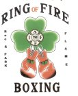 RING OF FIRE BOXING IAFF798 INTERNATIONAL ASSOCIATION FIRE FIGHTERS REC & PARK FLAME