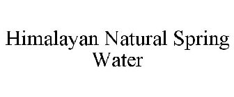 HIMALAYAN NATURAL SPRING WATER