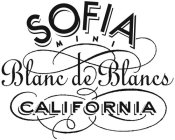 SOFIA MINI BLANC DE BLANCS CALIFORNIA