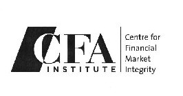 CFA INSTITUTE CENTRE FOR FINANCIAL MARKET INTEGRITY
