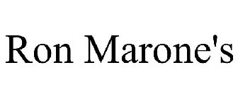 RON MARONE'S Trademark - Registration Number 3804153 - Serial Number  77654962 :: Justia Trademarks