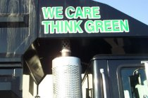 WE CARE THINK GREEN