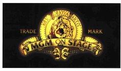 mgm on stage ars gratia artis trademark registration number