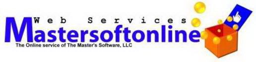 MASTERSOFTONLINE WEB SERVICES THE ONLINE SERVICE OF THE MASTER'S SOFTWARE, LLC