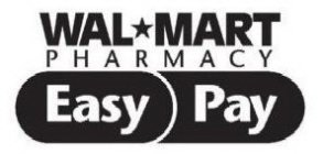 WAL*MART PHARMACY EASY PAY