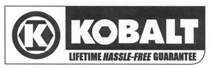 Phenomenal K Kobalt Lifetime Hassle Free Guarantee Trademark Serial Machost Co Dining Chair Design Ideas Machostcouk