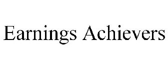EARNINGS ACHIEVERS