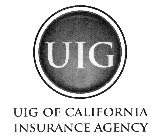 UIG UIG OF CALIFORNIA INSURANCE AGENCY