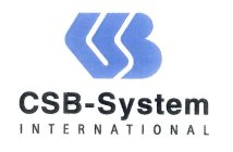 CSB-SYSTEM INTERNATIONAL