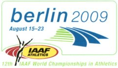 BERLIN 2009 AUGUST 15-23 IAAF ATHLETICS 12TH IAAF WORLD CHAMPIONSHIPS IN ATHLETICS