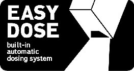 EASY DOSE BUILT-IN AUTOMATIC DOSING SYSTEM