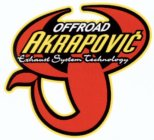 OFFROAD AKRAPOVIC EXHAUST SYSTEM TECHNOLOGY
