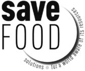 SAVE FOOD SOLUTIONS FOR A WORLD AWARE OF ITS RESOURCES