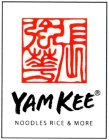YAM KEE NOODLES RICE & MORE