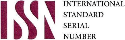 ISSN INTERNATIONAL STANDARD SE...