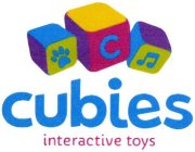 CUBIES INTERACTIVE TOYS