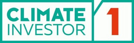 CLIMATE INVESTOR 1
