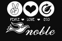 PEACE LOVE ECO NOBLE