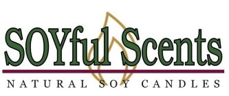 SOYFUL SCENTS NATURAL SOY CANDLES