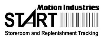 MOTION INDUSTRIES START STOREROOM AND REPLENISHMENT TRACKING