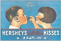 A KISS FOR YOU HERSHEY'S KISSES MILK CHOCOLATE
