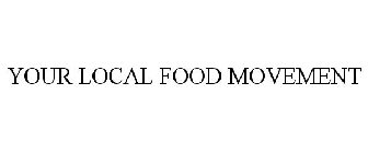 YOUR LOCAL FOOD MOVEMENT