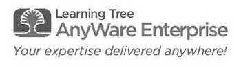 LEARNING TREE ANYWARE ENTERPRISE YOUR EXPERTISE DELIVERED ANYWHERE!