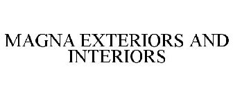 MAGNA EXTERIORS AND INTERIORS