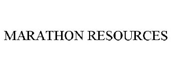 MARATHON RESOURCES