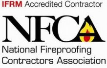 IFRM ACCREDITED CONTRACTOR NFCA NATIONAL FIREPROOFING CONTRACTORS ASSOCIATION