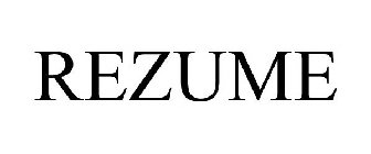 rezume trademark of ahc ventures corp registration number