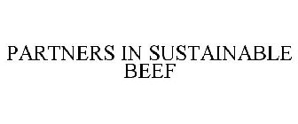 PARTNERS IN SUSTAINABLE BEEF