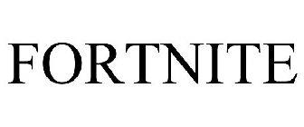 FORTNITE Trademark of Epic Games, Inc  - Registration Number