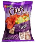 B BARCEL CHIP'S BY PAPAS TOREADAS FUEGO NEW LOOK KETTLE COOKED POTATO CHIPS