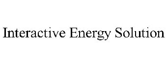 INTERACTIVE ENERGY SOLUTION