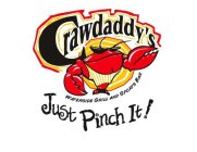 CRAWDADDY'S WATERSIDE GRILL AND SPORTS BAR JUST PINCH IT!
