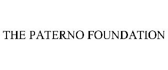 THE PATERNO FOUNDATION