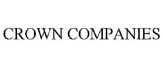 CROWN COMPANIES Trademark of Crown Financial Ministries