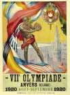 VIIE OLYMPIADE ANVERS (BELGIQUE) 1920 AOUT-SEPTEMBRE 1920