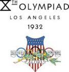 XTH OLYMPIAD LOS ANGELES 1932 CITIUS ALTIUS FORTIUS