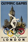 OLYMPIC GAMES LONDON 29 JULY 1948 14 AUGUST