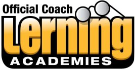 OFFICIAL COACH LEARNING ACADEMIES