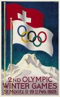 2ND OLYMPIC WINTER GAMES ST.MORTIZ 11-19TH FEB.1928