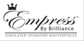 EMPRESS BY BRILLIANCE SIMULATED DIAMOND MASTERPIECES