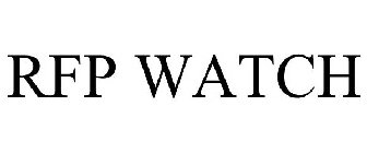 RFP WATCH Trademark of Choose New Jersey, Inc  - Registration Number