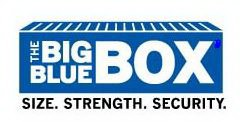 THE BIG BLUE BOX SIZE. STRENGTH. SECURITY.