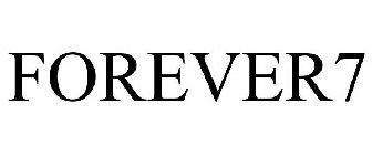 FOREVER7 Trademark of The Matthew Larson Foundation For