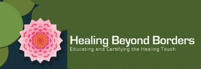 Image result for healing touch beyond borders logo